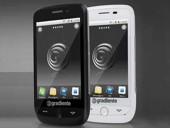 Gradiente Iphone com Android e dual chip
