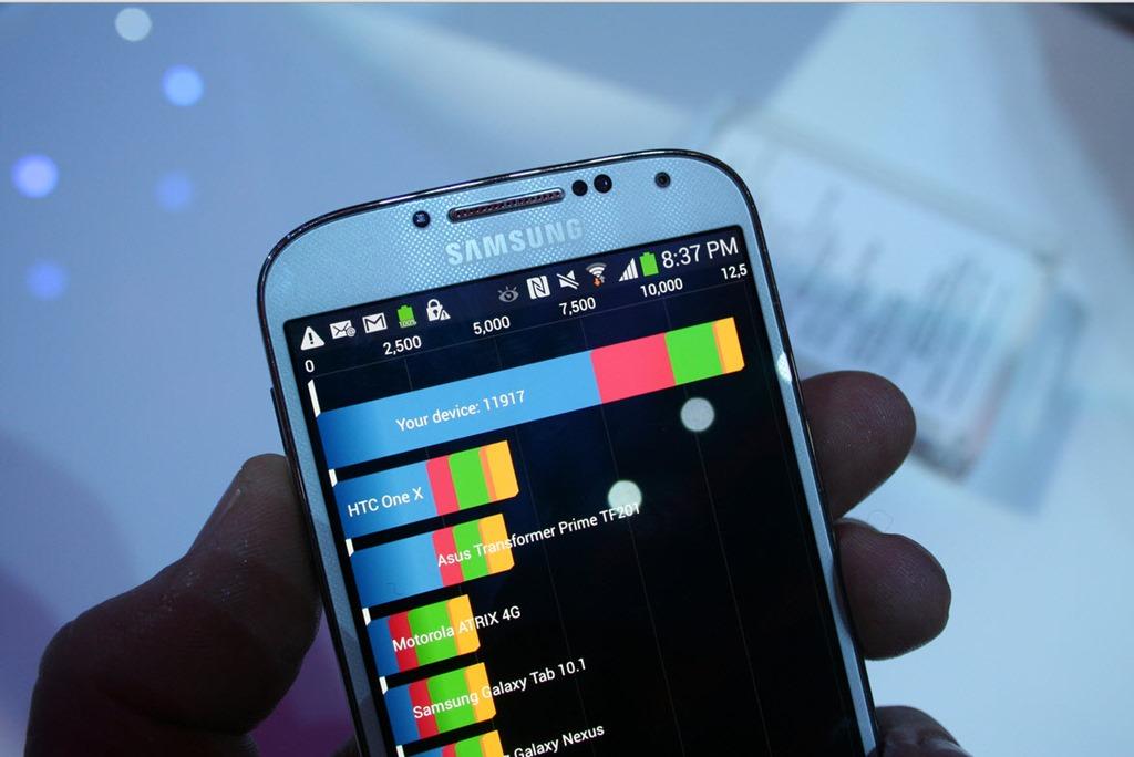 Samsung Galaxy S4 com menor desempenho
